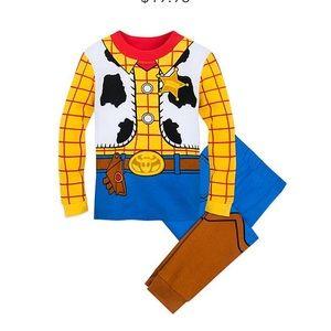 NWT Disney Woody Costume PJ